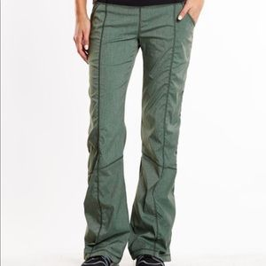 LUCY GET GOING PANT IN DEEP FOREST HEATHER